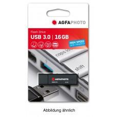 AgfaPhoto USB 128 GB, USB 3.0 schwarz