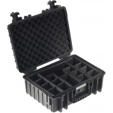 BW OUTDOOR CASES TYPE 5000 BLK RPD DIVIDER SYSTEM