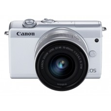 Canon EOS M200 m/15-45 mm IS STM - Hvid
