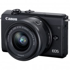 Canon EOS M200 m/15-45mm IS STM EF-M - Sort
