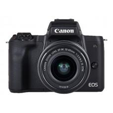 CANON EOS M50 M/15-45S+M55-200 SORT