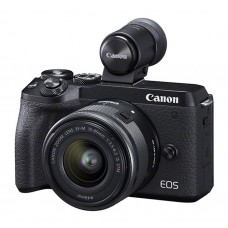 Canon EOS M6 II m/15-45mm IS STM +EVF DC2 - Black