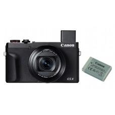 Canon PowerShot G5X Mark II SORT - Inkl. extra org. Batt.