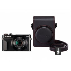 Canon Powershot G7X Mark II+Org. Etui+16 GB SD