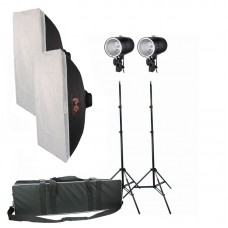 DØRR BASIC 160 FLASH 50X75 SOFTBOKS KIT