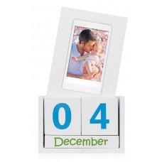 Fuji Instax cube calendar MINI permanent wooden