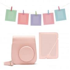 Fuji INSTAX MINI 11 ACCESSORY KIT BLUSH-PINK - Pink