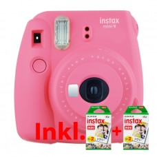 Fuji Instax Mini 9 Flam Pink + 2x10x2 film