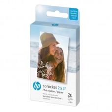 HP Zink Paper Sprocket 20 Pack 2x3