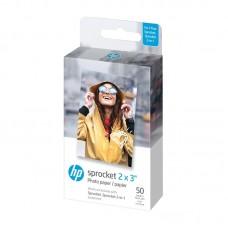 HP Zink Paper Sprocket 50 Pack 2x3