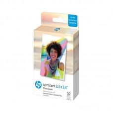 HP Zink Paper Sprocket Select 50 Pack 2,3x3,4