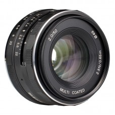 Meike 50 mm f/2,0 Multi Coated MFT