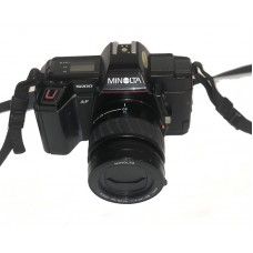 Minolta 5000 AF m/35-80mm - Brugt - 6 mdr. Garanti