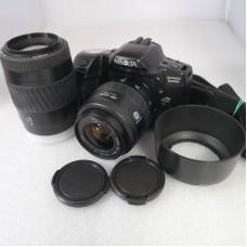 Minolta Dynax 500 si m/35-70mm + 70-210mm - Brugt - 6 mdr. Garanti