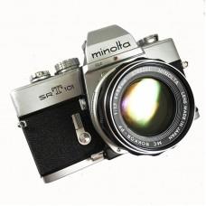 Minolta SRT 101 m/50mm f1.7 - Brugt - 6 mdr. Garanti