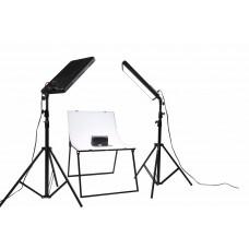 NANLITE Compac 100 2KIT+T LED Lighting Kit