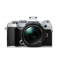 Olympus E-M5 MarkIII+14-150 Silver/sort
