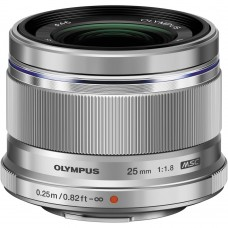 Olympus M.Zuiko 25mm F/1.8 Silver
