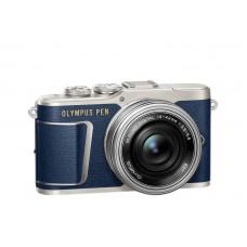 Olympus PEN E-PL9 m14-42EZ blå/sølv