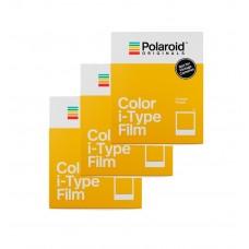 POLAROID COLOR FILM FOR I-TYPE 3 pk.