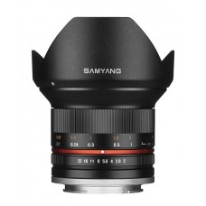 Samyang 12 MM f/2,0 MFT Black