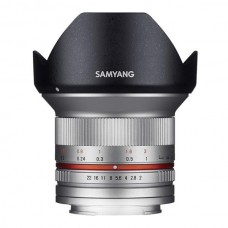 Samyang 12 mmf/2,0 Canon M silver  - EOS M