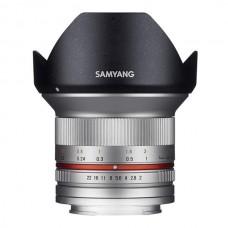 Samyang 12 mmf/2,0 Canon M silver