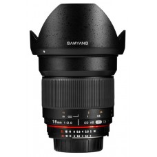 Samyang 16 mm f/2,0 Canon
