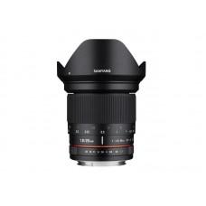 Samyang 20 mm f/1,8 DSLR Fuji X