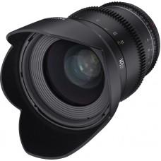 Samyang 35 mm T1.5 VDSLR MK2 Canon M - EOS M