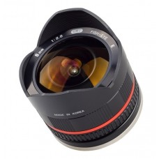 Samyang 8 mm f/2,8 II Canon M sort