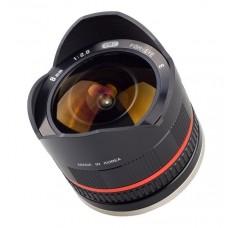 Samyang 8 mm f/2,8 II Fuji Sort
