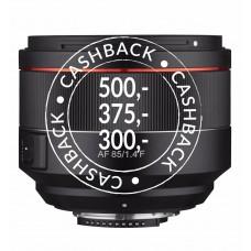 SAMYANG AF 85mm f/1.4 Nikon F - CashBack 375,-