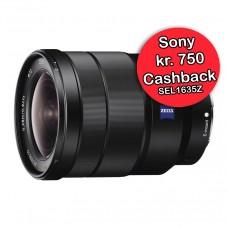 Sony 16-35mm f/4 FE ZA OS  - Cashback 750,-