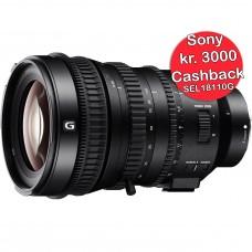 Sony 18-110mm f/4 G OSS - Cashback 3000,-