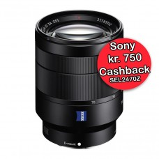 Sony 24-70mm f/4 Zeiss T  - Cashback 750,-