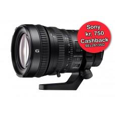 Sony 28-135mm F/4 OSS PZ G  - Cashback 750,-