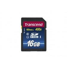 Transcend SD  16 GB Class 10 400x Write 25 MB/s