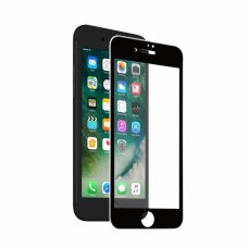 Vivanco Fuldskærm Beskytt.sglas iPhone 8/7 Sort