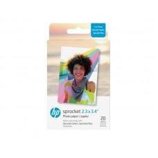HP Zink Paper Sprocket Select 20 Pack 2,3x3,4