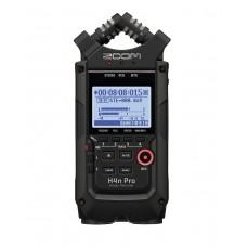 Zoom H4n PRO Black, mobiler 4-Kanal Recorder